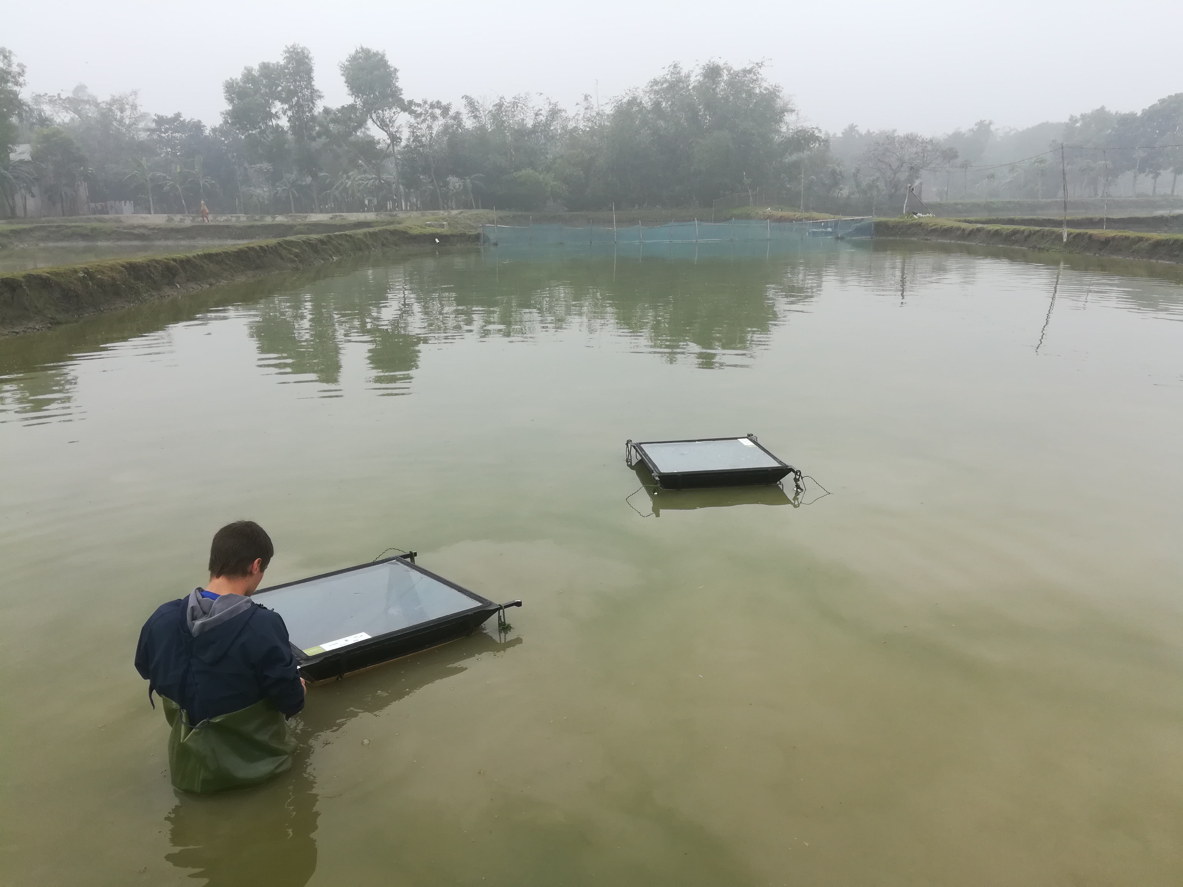 Smart and Sustainable Aeration Technology for Aquaculture